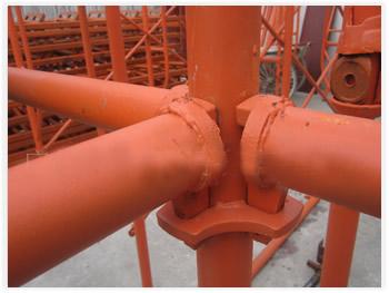 轮扣式钢管脚手架